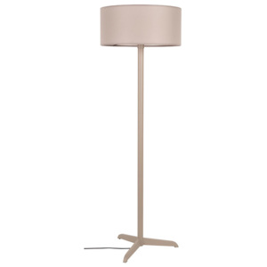Lampadar din metal crem Shelby Taupe Zuiver