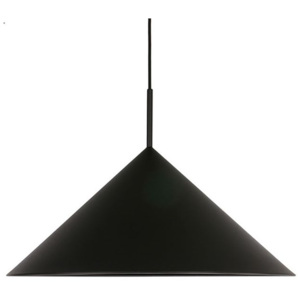 Lustra neagra din metal Triangle Black HK Living