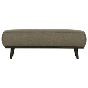 Bancheta verde din bumbac 120 cm Statement Be Pure Home