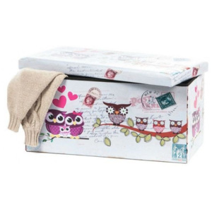 Taburete Design 76.5 x 38 Owls