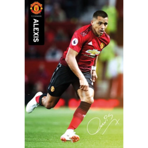 Manchester United - Alexis 18-19 Poster, (61 x 91,5 cm)