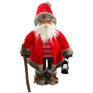 Decoratiune Santa Red 79 cm