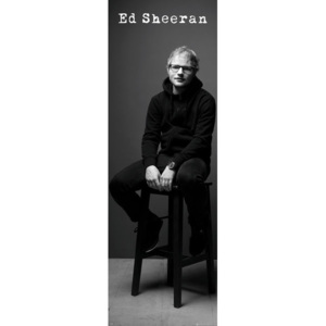 Ed Sheeran - Black and White Poster, (53 x 158 cm)