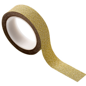 Banda decorativa Tape, Gold Paper