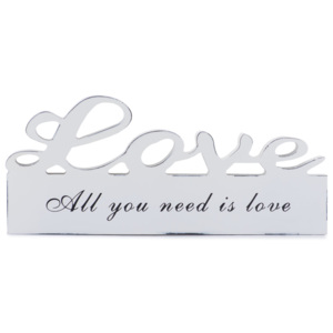 LITERE DIN LEMN quot;ALL YOU NEED IS LOVEquot