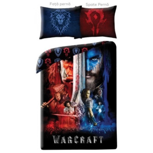 Lenjerie de pat copii Cotton Warcraft WCM-0025-200 x 140 cm