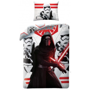 Lenjerie de pat copii Cotton Star Wars STAR747BL-200 x 140 cm