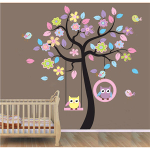Sticker perete Dream Tree Owls