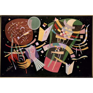 Wassily Kandinsky - Composition X, 1939 Reproducere