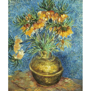 Crown Imperial Fritillaries in a Copper Vase, 1886 Reproducere, Vincent van Gogh
