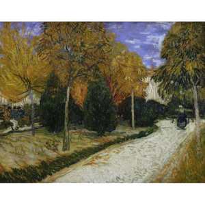 Path in the Park at Arles, 1888 Reproducere, Vincent van Gogh