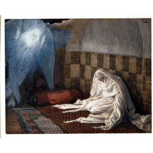 Annunciation, illustration for 'The Life of Christ', c.1886-96 Reproducere, James Jacques Joseph Tissot