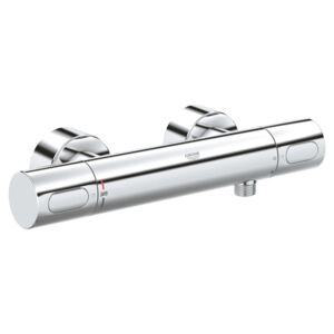 Baterie dus cu termostat Grohe Grohtherm 3000 Cosmopolitan, Cartus compact, EcoJoy, Crom