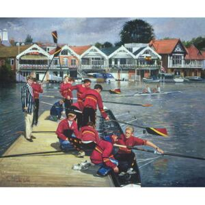 Towards the Boathouses, Henley, 1997 Reproducere, Timothy Easton