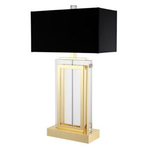Veioza Arlington Table Lamp Gold/Black | EICHHOLTZ