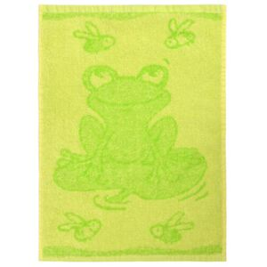 Prosop copii Frog green, 30 x 50 cm