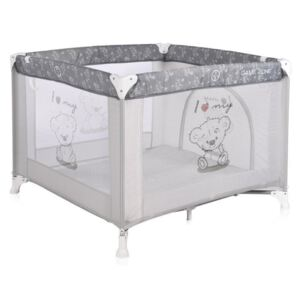Lorelli - Tarc de joaca Game Zone, Grey My Teddy