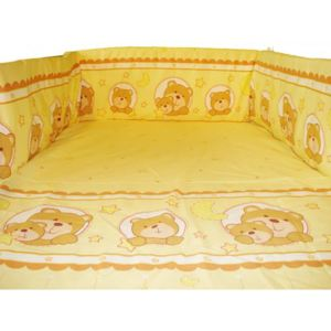 Aparatoare laterala Teddy Night galben 120x60