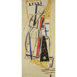 Marcoussis, Louis - Abstract Lulli, 1919 Reproducere