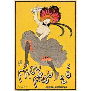 Cappiello, Leonetto - Poster advertising the French journal 'Le Frou Frou', 1899 Reproducere