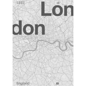 London Minimal Map Reproducere, Bodart, Florent