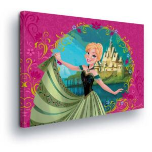 GLIX Tablou - Disney Frozen Princess Anna 60x40 cm