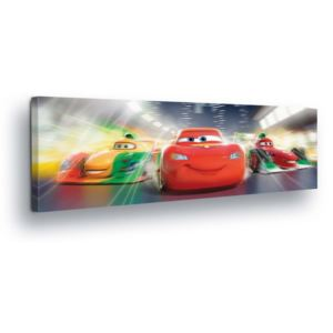 GLIX Tablou - Disney Racing Cars 45x145 cm