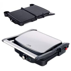 Grill electric Life Grill Time, placi antiaderente 29.7 x 23.5 cm, 2000W