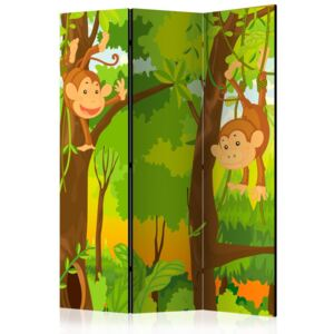 Bimago Paravan - Jungle - Monkeys 135x172 cm