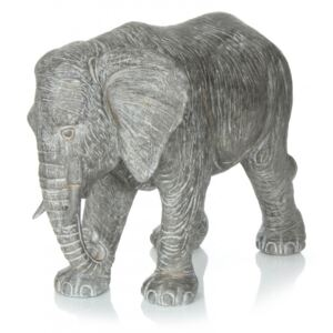 Decoratiune Elephant, gri