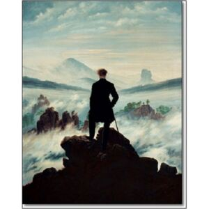 The wanderer above the sea of fog, 1818 Reproducere, Caspar David Friedrich, (60 x 80 cm)