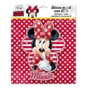 Sticker de perete cu led Minnie SunCity LEY2266LRB