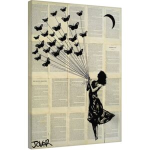 Loui Jover - Butterflying Tablou Canvas, (60 x 80 cm)