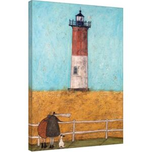 Sam Toft - Feeling the Love at Nauset Light Tablou Canvas, (60 x 80 cm)