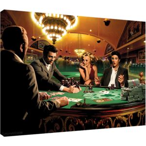 Chris Consani - Royal Flush Tablou Canvas, (80 x 60 cm)