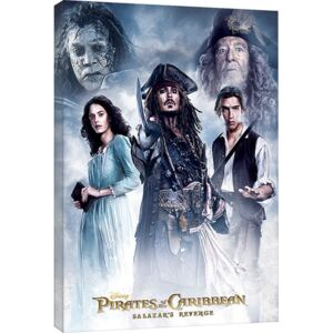 Pirates of the Caribbean - Salazar's Revenge Tablou Canvas, (60 x 80 cm)
