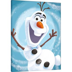 Olaf's Frozen Adventure - Happy Tablou Canvas, (60 x 80 cm)