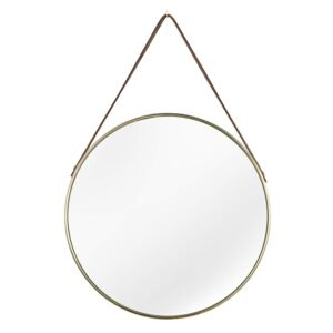 Oglinda aurie ø45cm Mirror Wall Portrait Gold | INVICTA INTERIOR