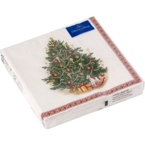 Set servetele hartie Villeroy & Boch Winter Specials C-Napkin Fir Tree 25x25cm