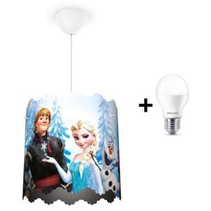 Philips 71751/01/16 - LED Lustră copii DISNEY FROZEN 1xE27/9W/230V