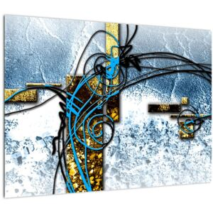 Tablou abstract (70x50 cm)