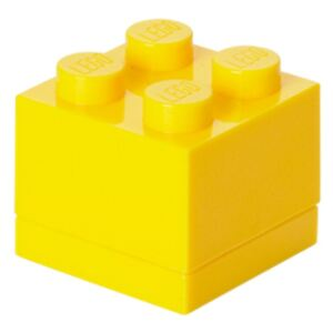 Cutie depozitare LEGO® Mini Box Yellow, galben