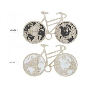 Cuier din MDF WORLD MAP, 42x3x24 cm - 2 modele
