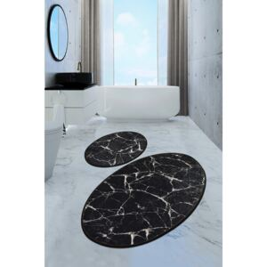 Set 2 covorase baie ovale, Chilai Home, Marble DJT