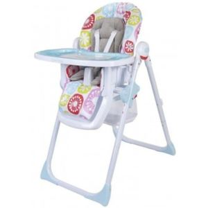 Scaun de masa Happy Best Meals - Sun Baby - Flori Roz