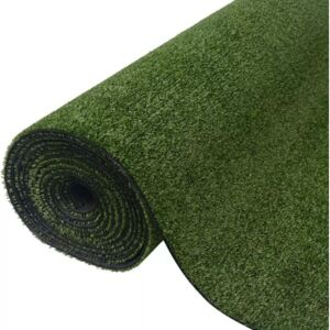 Gazon artificial, 1 x 15 m/7-9 mm, verde