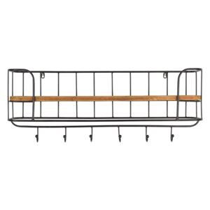 Raft lemn si metal Antique Coat Rack | DUTCHBONE