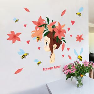 Sticker perete Flower Fairy