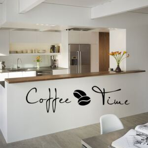 Sticker perete Coffee Time