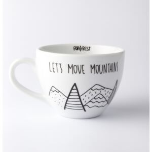 Cană FOR.REST Let´s Move Mountains, 300 ml